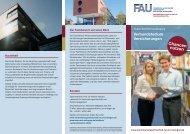 Verbundstudium Versicherungen - Forum V