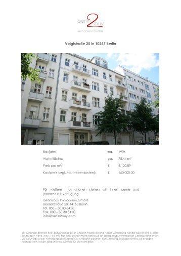 Voigtstraße 25 in 10247 Berlin - berlin2buy