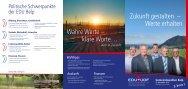 Download Wahlprospekt - EDU Schweiz