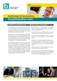 Immobilienkauffrau/-mann - Berufsförderungswerk Frankfurt am Main