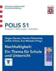 POLIS 51 - Hessische Landeszentrale für politische Bildung