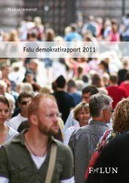 Falu demokratirapport 2011 - Falu Kommun