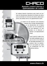 Detector electrónico BE 200 - CHACO