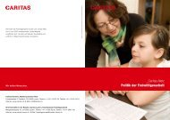 _Caritas-Netz Politik der Freiwilligenarbeit - Caritas Luzern