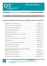 Kultur, Archäologie, Geschichte, Geographie - Deutsch-Türkische ...
