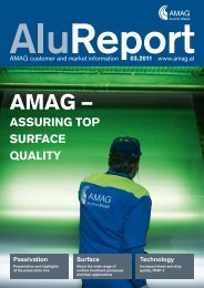Download complete issue of the Alu Report 3 - Austria Metall AG