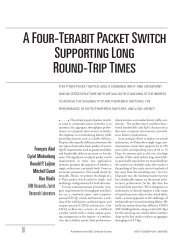 A four-terabit packet switch supporting long round-trip times - Micro ...