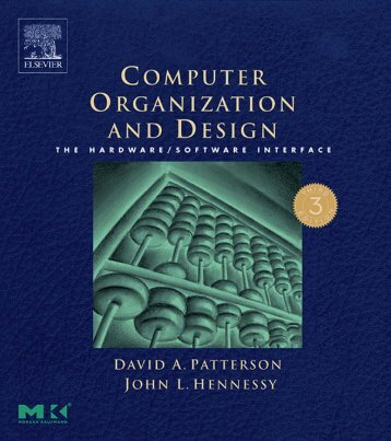 Computer Organization and Design: The Hardware/Software - CSIT ...