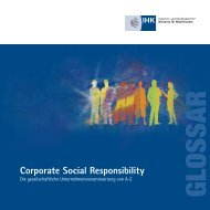 IHK Broschüre Corporate Social Responsibility - IHK Nürnberg für ...
