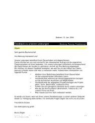 Feedback Bauherr im pdf-Format - bze elektroplanung gmbh