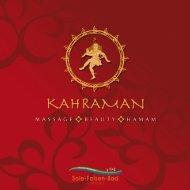 Folder Kahramann Massagen - Sole-Felsen-Bad