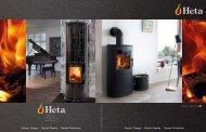Heta Contemporary full product brochure 2012 ... - Woodstoves.co.uk