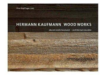 Hermann Kaufmann Wood works - Puuinfo