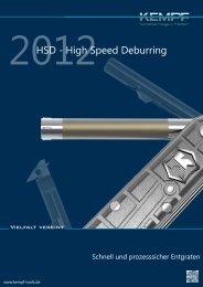 HSD - High Speed Deburring - Kempf
