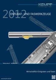 Präzisionsfaswerkzeuge Stand 5-2009 - Kempf