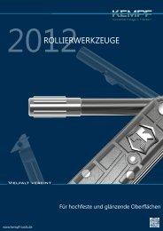2012ROLLIERWERKZEUGE - Kempf