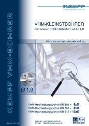 VHM-KLEINSTBOHRER - Kempf