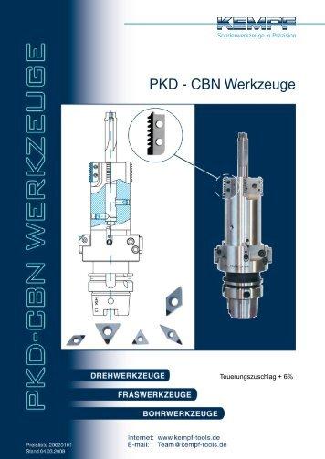 PKD - CBN Werkzeuge - Kempf