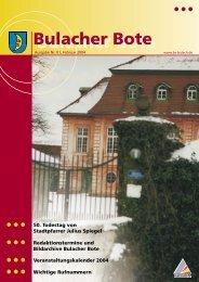 Bulacher Bote - KA-News