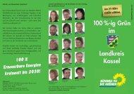 100 %-ig Grün im Landkreis Kassel - Konzepte für Hessen