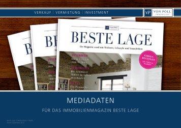 MEDIADATEN - BESTE LAGE Magazin/Archiv
