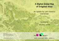 A Digital Global Map of Irrigated Areas