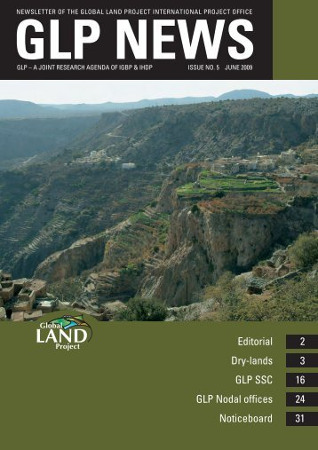 June 2009 - Global Land Project