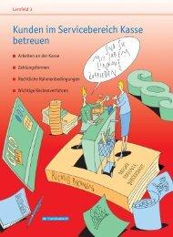 Kunden im Servicebereich Kasse betreuen - Cornelsen Verlag