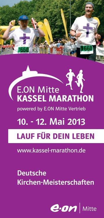 Deutsche Kirchen-Meisterschaften - Kassel Marathon