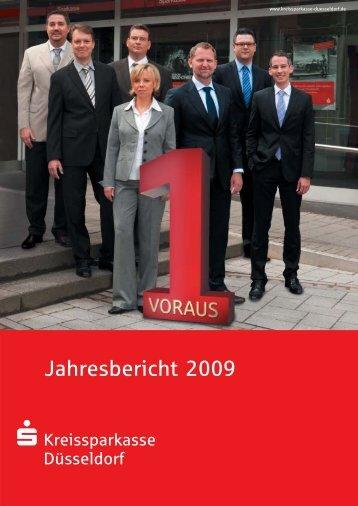 Jahresbericht 2009 - Kreissparkasse Düsseldorf