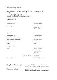 Programm Hallensportfest 2012 - Landes-Kanu-Verband Berlin