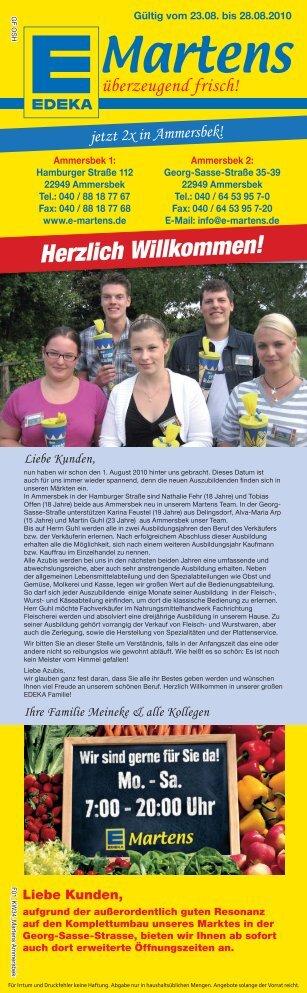 F00-3 KW34 Martens Ammersbek.indd - EDEKA Martens