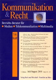Lesen Sie den Beitrag als PDF - Compass Communications GmbH ...