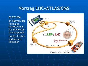 Vortrag LHC+ATLAS/CMS - Hera-B - Desy