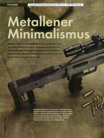 TITELTHEMA Keppeler-Bu11pup-Repetierer KS V in .308 Winchester