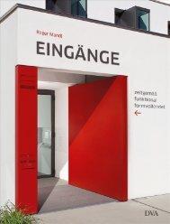 EINGÄNGE, Roger Mandl DVA 2010 - Keppler Architektur