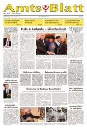 Halle & Karlsruhe – Silberhochzeit - Saale - Stadt Halle (Saale)