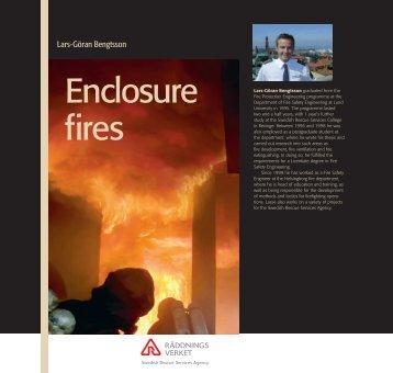 Enclosure fires
