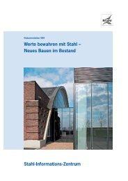 Download als PDF (3.026 KB) - Stahl-Informations-Zentrum