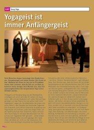 Artikel über unsere Yoga-Lehrer (3,8 MB