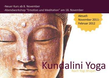 Kundalini Yoga - Surya Zentrum