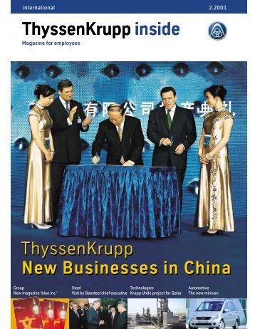 ThyssenKrupp inside - ThyssenKrupp Materials International