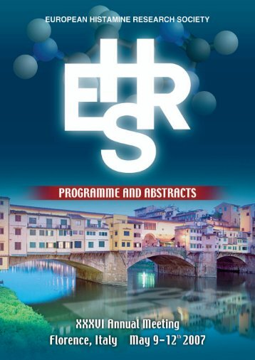 EHRS 2007 Programme and Abstracts Book - The European ...