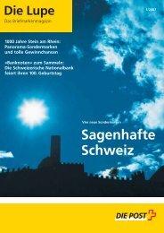 Sagenhafte Schweiz - Die Schweizerische Post