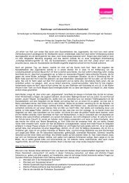 Klaus Posch: Beziehungs- und lebensweltorientierte ... - Neustart