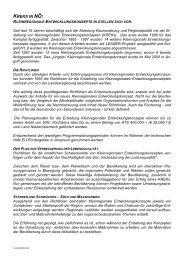 KREKS IN NÖ: - Raumordnung und Regionalpolitik