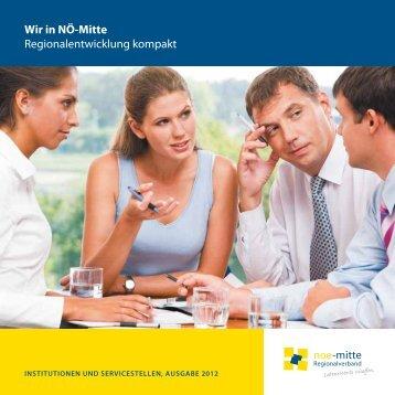 Serviceheft - Regionalverband Niederösterreich-Mitte