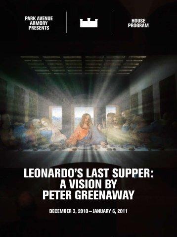 Leonardo's Last supper - Park Avenue Armory
