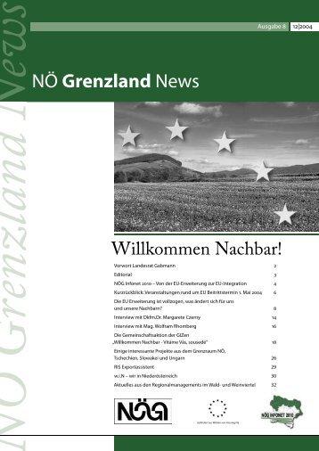 NÖ Grenzland News - Die NÖG fördert Unternehmen und Gemeinden