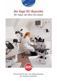 Labormikroskope KC - Kaps Optik GmbH